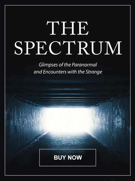 "Cover of ""The Spectrum: Glimpses of the Paranormal and Encounters with the Strange"" book."