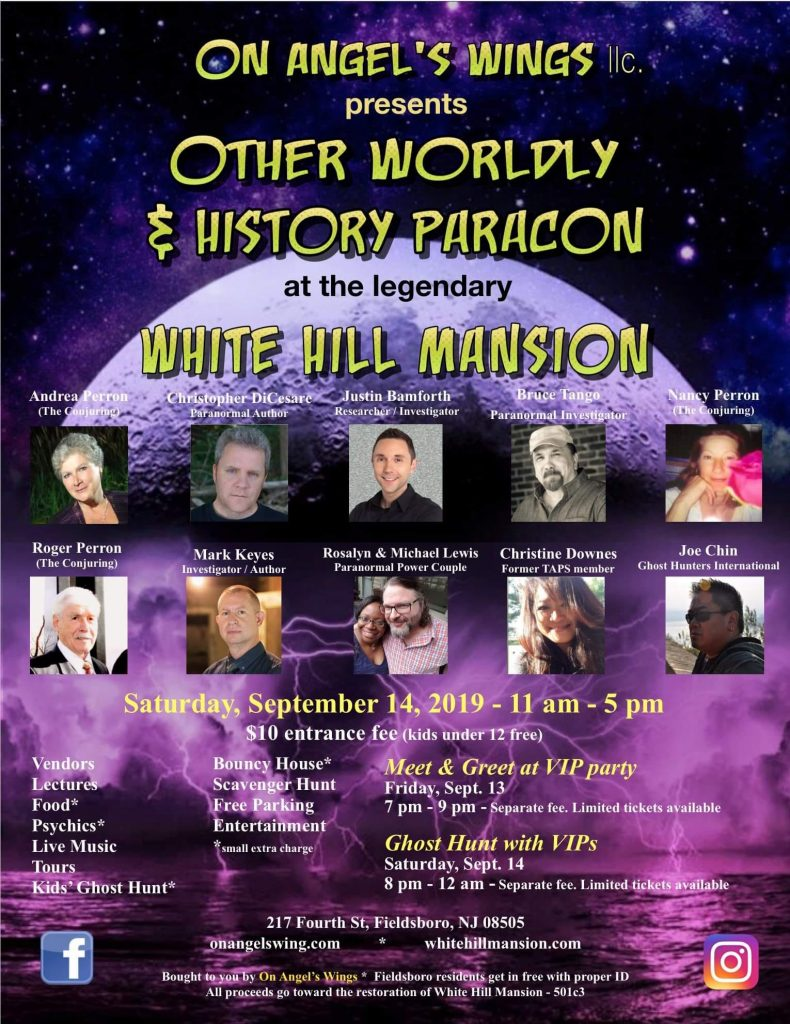 Otherworldly Paracon Event Poster