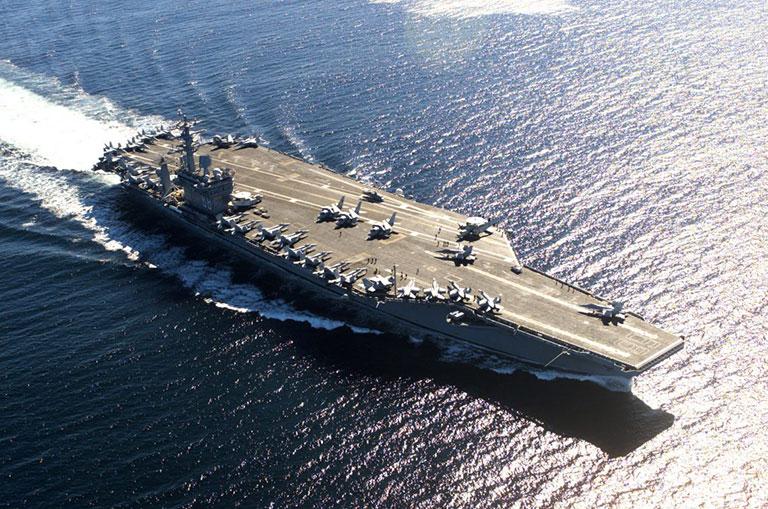 USS Nimitz aircraft carrier