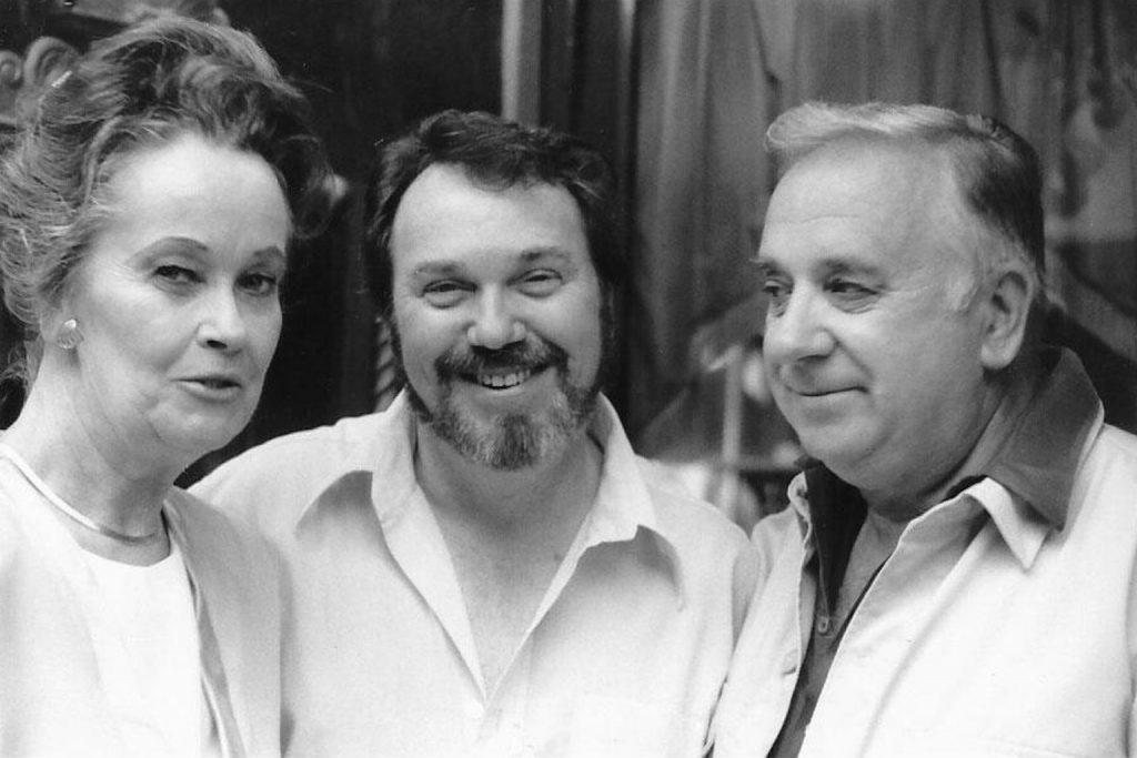 Ed and Lorraine Warren with Barrett Ravenhurst in Jim Thorpe, PA on July 19, 1988.