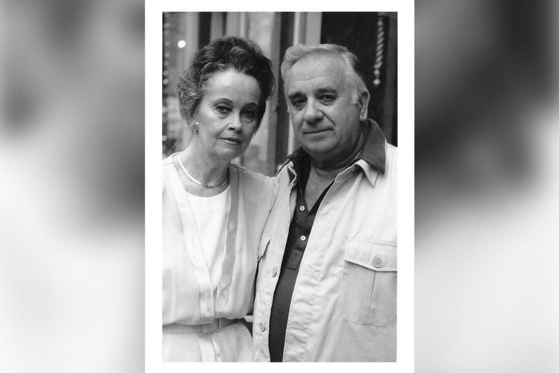 Ed and Lorraine Warren in Jim Thorpe, PA in 1988.