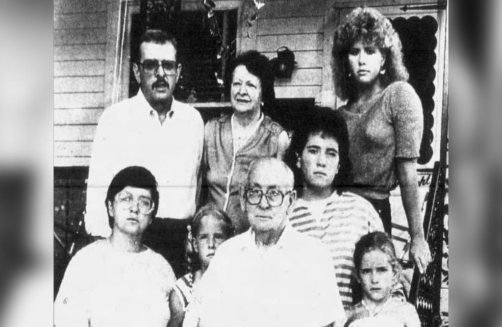 The Smurl family in 1986.